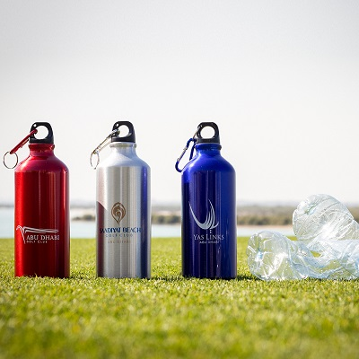 ABU DHABIS TRIO OF GOLF CLUBS SET TO ELIMINATE ALL SINGLEUSE PLASTIC BOTTLES