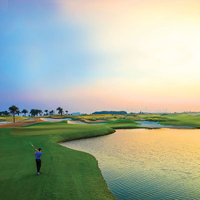 ABU DHABI GOLF CLUB HOSTS ANOTHER SENSATIONAL START TO